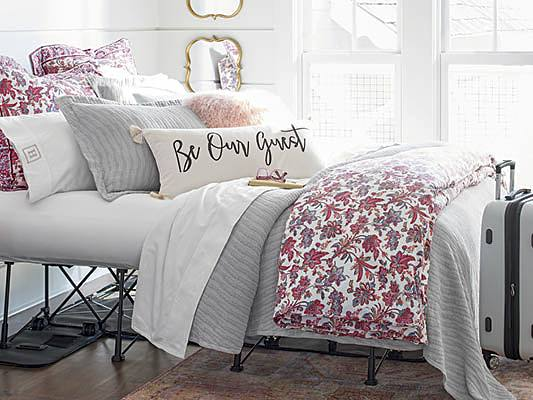 How To Layer Your Bed Our Best Bedscaping Tips Grandin Road Blog