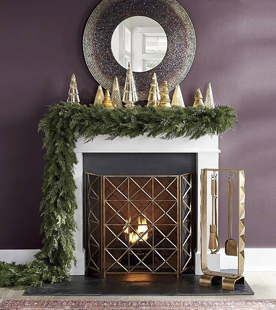 holiday decor for your hearth