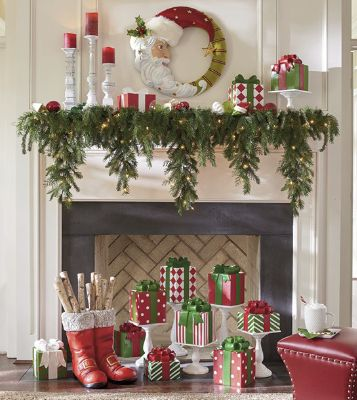 how to decorate a christmas mantel updated traditional grandinnow, a few more updated traditional christmas mantel ideas