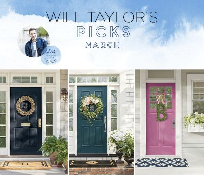 ... Ideas For Your Front Door Using Grandinroad Products. We Discussed  Themes, Color Choices, And More For Three Of His Will Tayloru0027s Picks:  Nautical Chic.