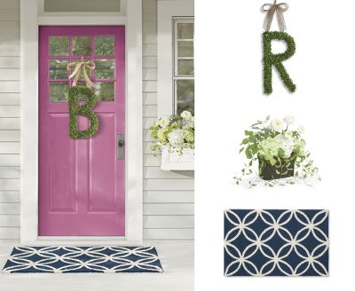 Tags: Front Door Decor, Will Taylor Decorating Ideas, Will Taylor Door  Design, Will Taylor For Grandinroad, Will Taylor Home Design, Wreaths