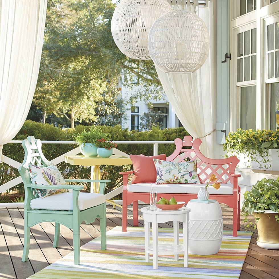Front Porch Makeover One Porch Three Sunny Ways