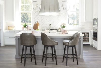 Isaac Swivel Bar & Counter Stool