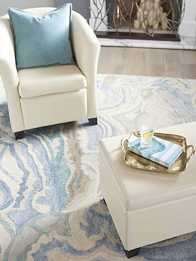 rug ideas try transitional rug in agate pattern