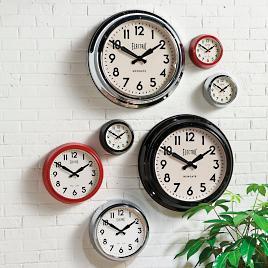 Crosby Wall Clock By Howard Miller Grandin Road