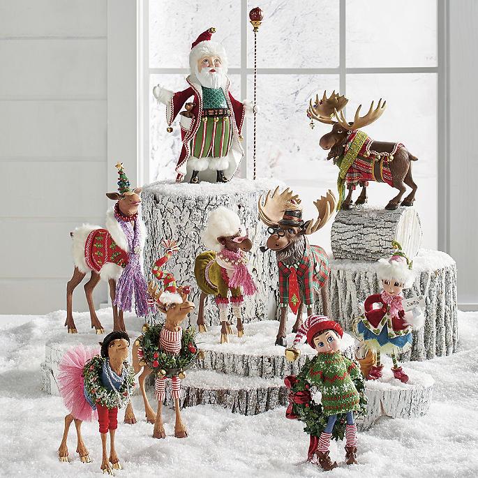 Find Cheap Indoor Christmas Decorations: Fa La La Christmas Figures