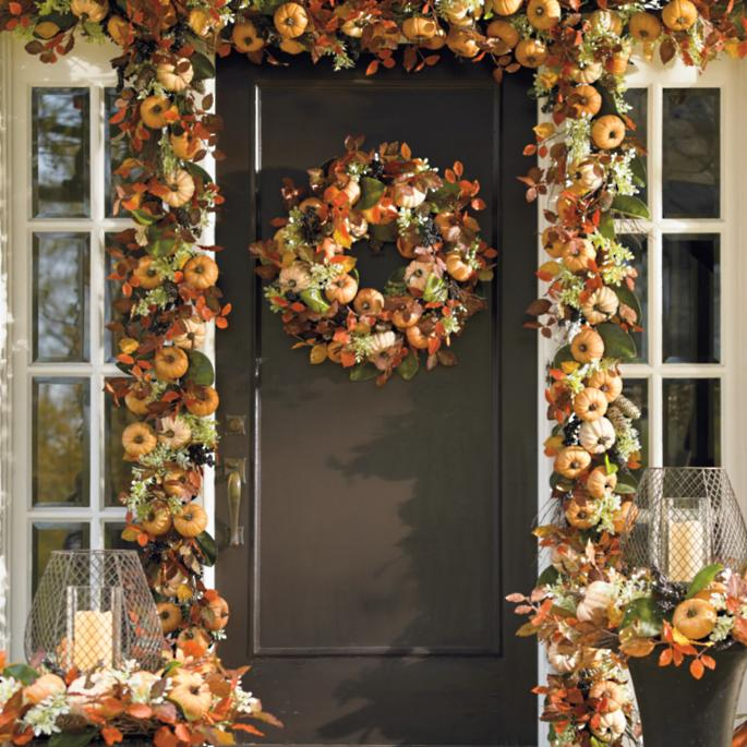 Front Gate Home Decor: Harvest Pumpkin Collection