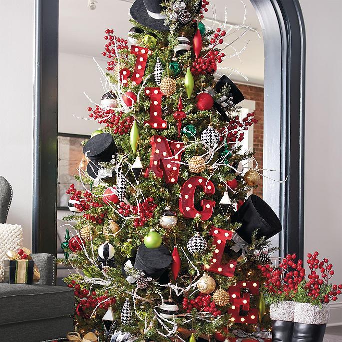 City Lights Designer Christmas Tree