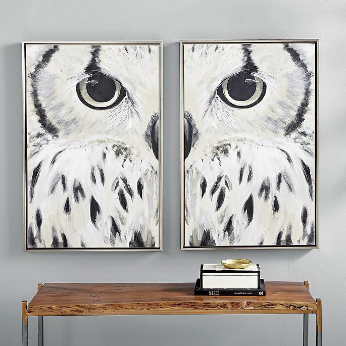 Olsen Owl Wall Art I