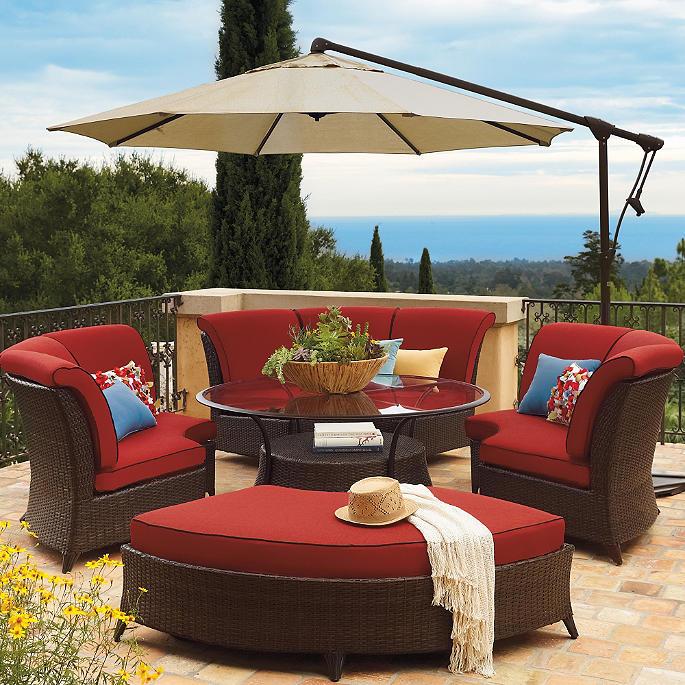 Malibu 1/4 Curve Sectional Sofa With Cushions