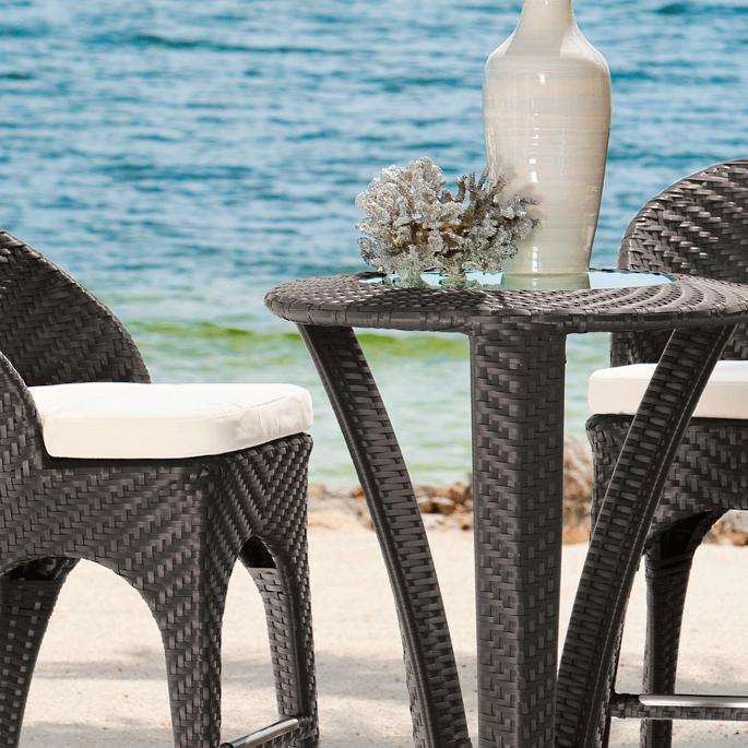 Corona Bar Chair - Corona Outdoor Bar Furniture Grandin Road
