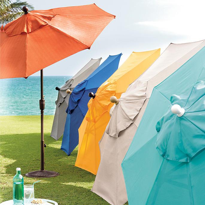 Octagonal Outdoor Market Umbrella