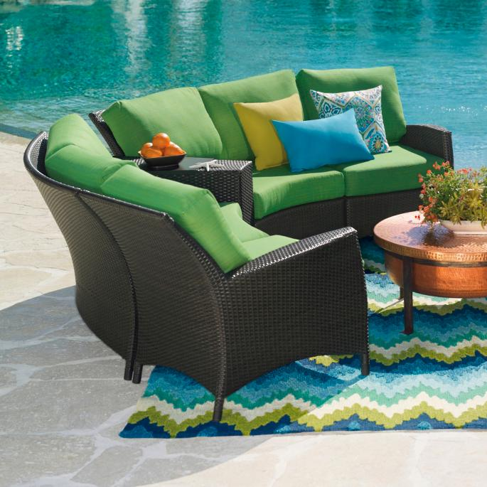 Jax Sectional - Jax Outdoor Furniture Grandin Road